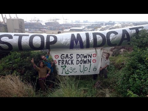 Dia d'acció global contra el gas #GasDownFrackDown Via @Contrainfos @OkupemLesOnes